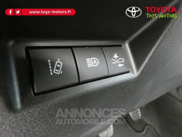 Toyota YARIS 70 VVT-i Design 5p RC18 BI-TON ROUGE ALLURE Occasion - 9