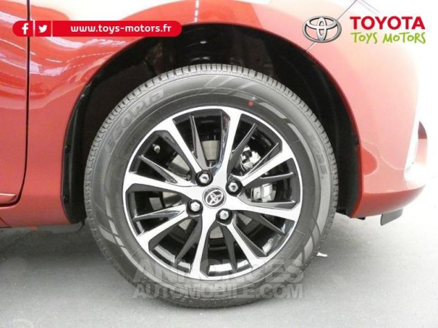 Toyota YARIS 70 VVT-i Design 5p RC18 BI-TON ROUGE ALLURE Occasion - 10