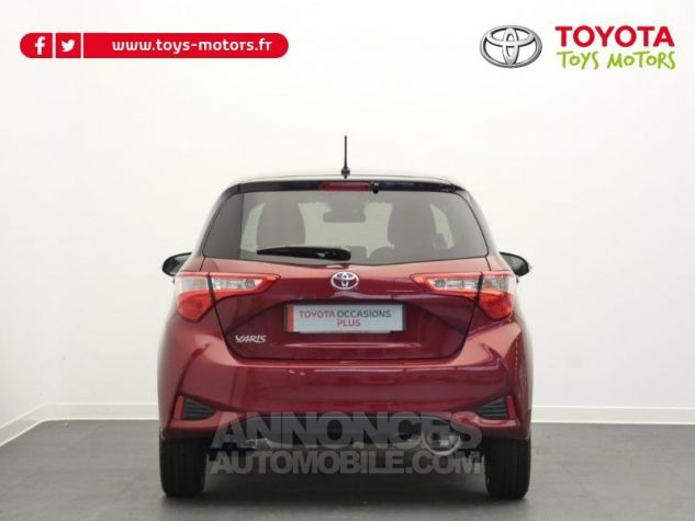Toyota YARIS 70 VVT-i Design 5p RC18 BI-TON ROUGE ALLURE Occasion - 11