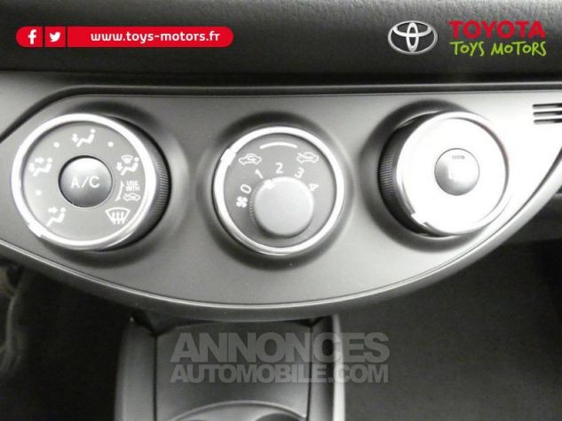 Toyota YARIS 70 VVT-i Design 5p RC18 BI-TON ROUGE ALLURE Occasion - 12