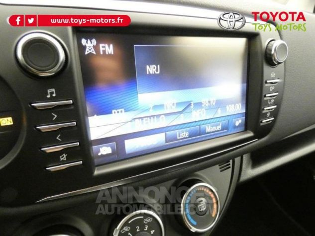 Toyota YARIS 70 VVT-i Design 5p RC18 BI-TON ROUGE ALLURE Occasion - 13