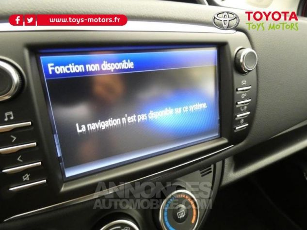 Toyota YARIS 70 VVT-i Design 5p RC18 BI-TON ROUGE ALLURE Occasion - 15