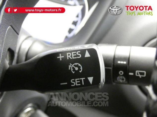 Toyota YARIS 70 VVT-i Design 5p RC18 BI-TON ROUGE ALLURE Occasion - 16