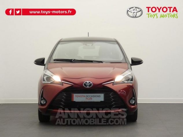 Toyota YARIS 70 VVT-i Design 5p RC18 BI-TON ROUGE ALLURE Occasion - 17