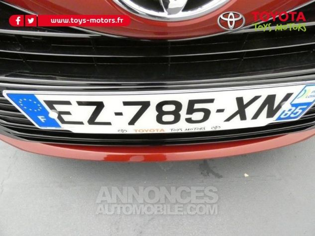 Toyota YARIS 70 VVT-i Design 5p RC18 BI-TON ROUGE ALLURE Occasion - 18