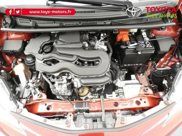 Toyota YARIS 70 VVT-i Design 5p RC18 BI-TON ROUGE ALLURE Occasion - 19