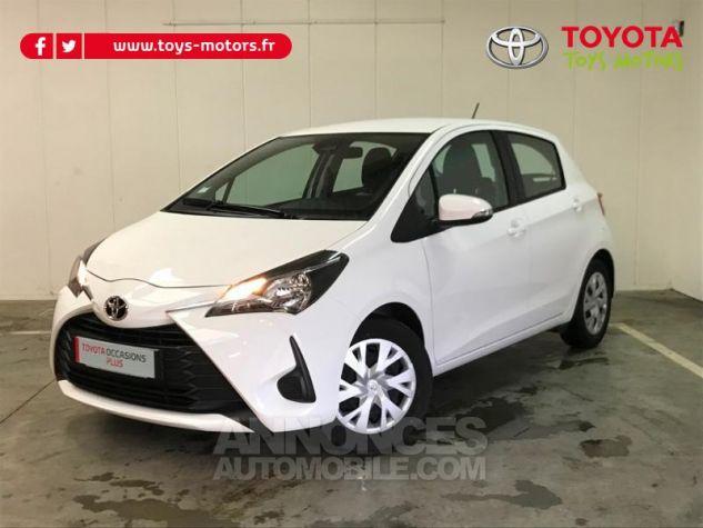 Toyota YARIS 70 VVT-i France 5p MY19 Blanc Occasion - 0