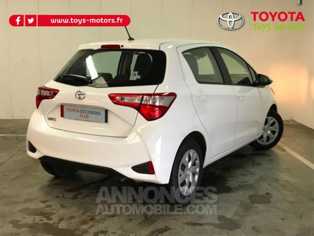 Toyota YARIS 70 VVT-i France 5p MY19 Blanc Occasion - 1