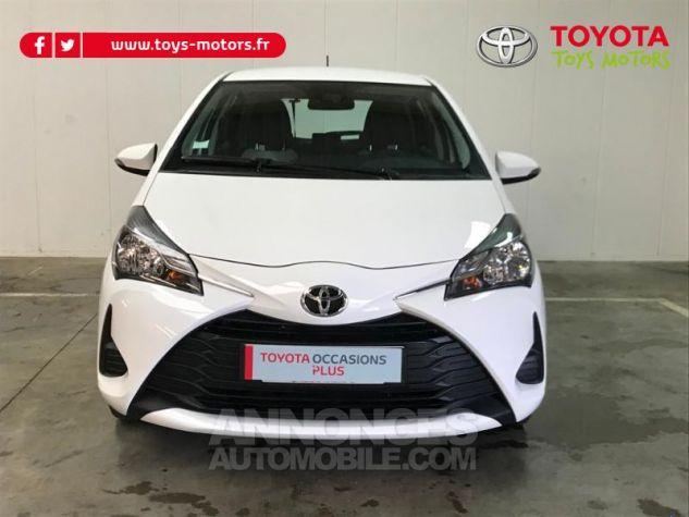 Toyota YARIS 70 VVT-i France 5p MY19 Blanc Occasion - 2