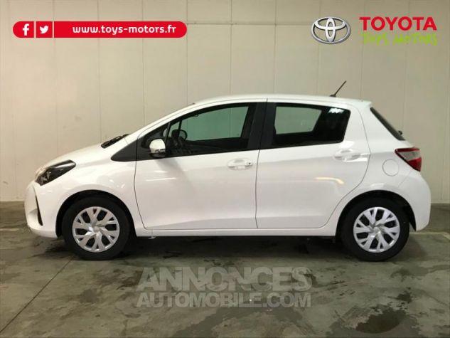 Toyota YARIS 70 VVT-i France 5p MY19 Blanc Occasion - 3