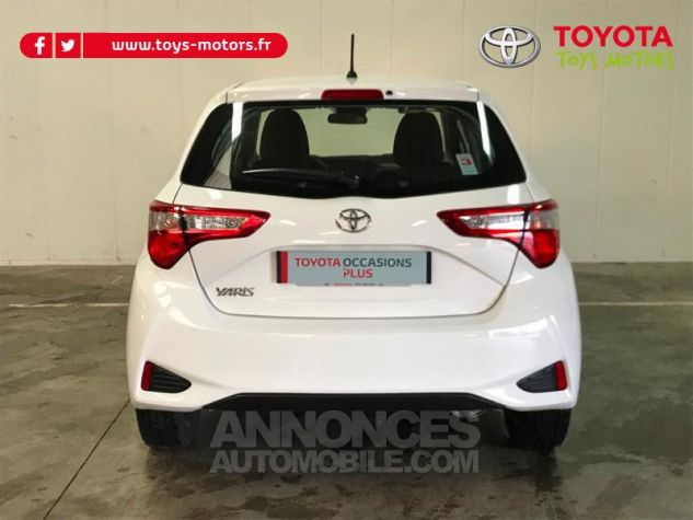 Toyota YARIS 70 VVT-i France 5p MY19 Blanc Occasion - 4