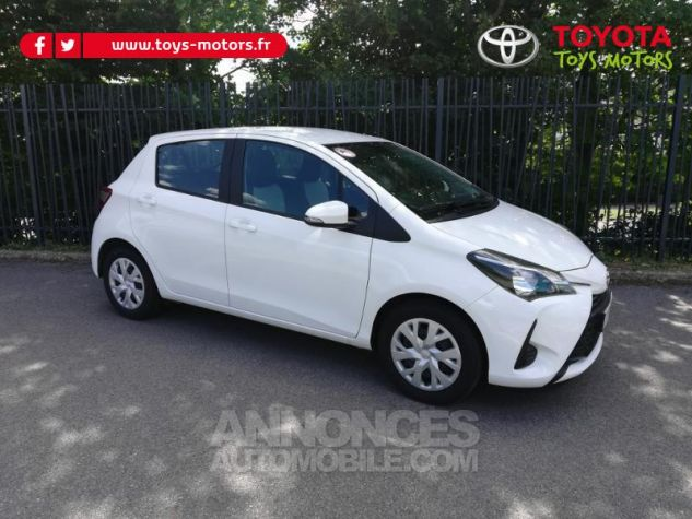 Toyota YARIS 70 VVT-i France 5p MY19 Blanc Pur Occasion - 0