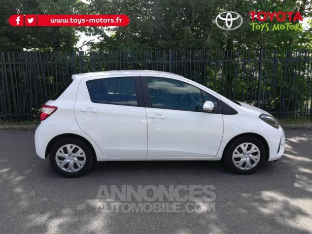 Toyota YARIS 70 VVT-i France 5p MY19 Blanc Pur Occasion - 1