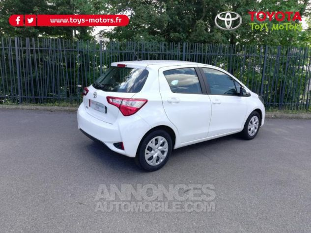 Toyota YARIS 70 VVT-i France 5p MY19 Blanc Pur Occasion - 2