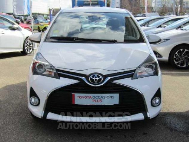 Toyota YARIS 90 D-4D Business 5p Blanc Occasion - 1
