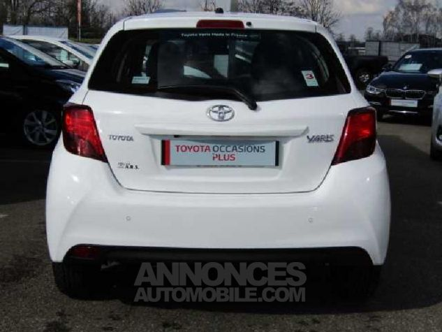 Toyota YARIS 90 D-4D Business 5p Blanc Occasion - 3