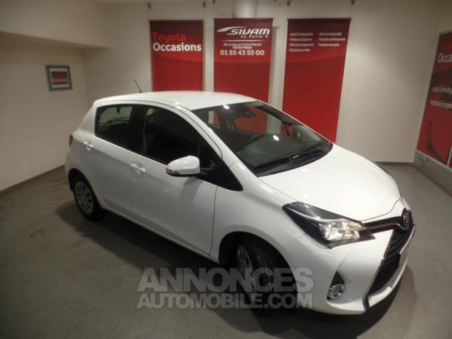 Toyota YARIS 90 D-4D Business 5p BLANC Occasion - 0