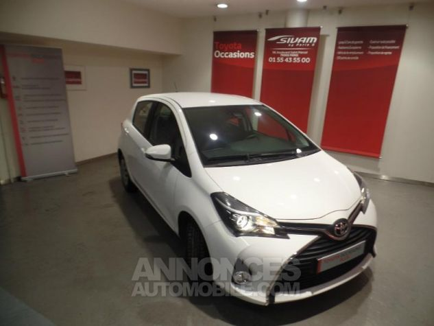 Toyota YARIS 90 D-4D Business 5p BLANC Occasion - 14