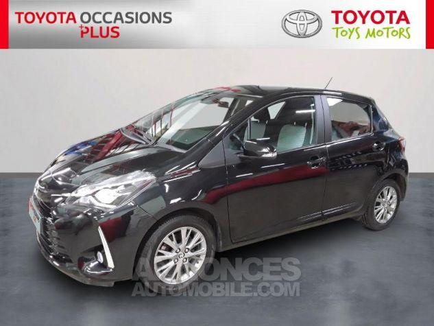 Toyota YARIS 90 D-4D Dynamic 5p Noir Occasion - 0