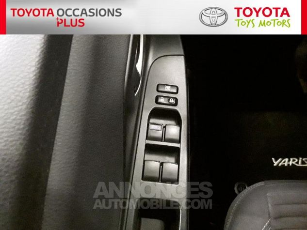 Toyota YARIS 90 D-4D Dynamic 5p Noir Occasion - 11