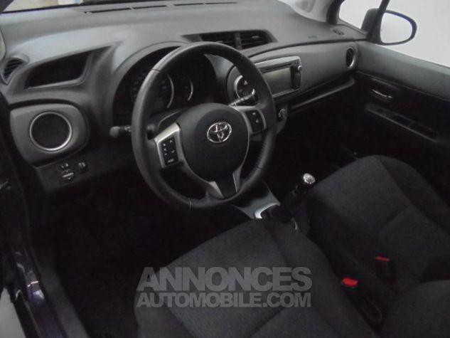 Toyota YARIS 90 D-4D Dynamic 5p POURPRE Occasion - 4