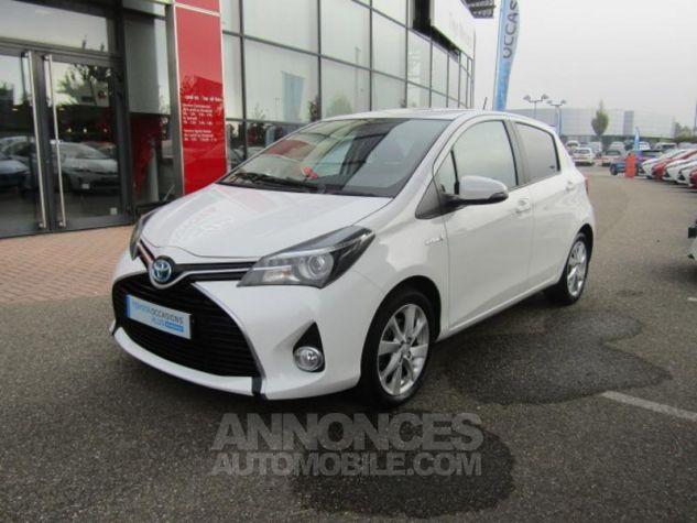 Toyota YARIS HSD 100h Attitude 5p Blanc Occasion - 0