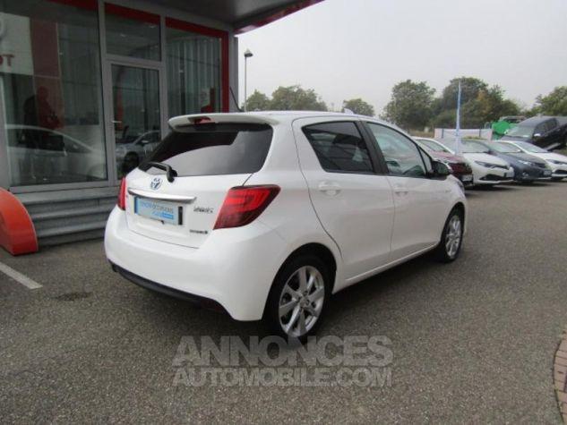 Toyota YARIS HSD 100h Attitude 5p Blanc Occasion - 6
