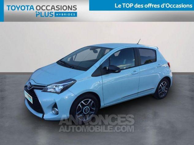 Toyota YARIS HSD 100h Cacharel 5p Vert Clair Métal Occasion - 0