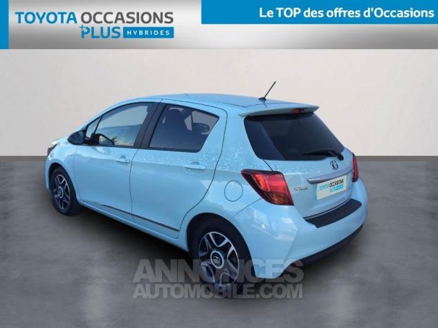 Toyota YARIS HSD 100h Cacharel 5p Vert Clair Métal Occasion - 1