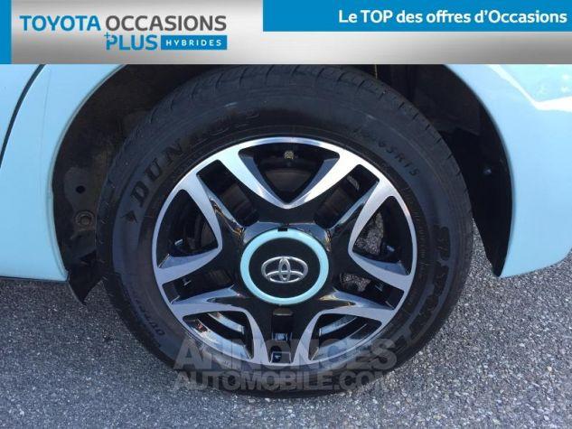 Toyota YARIS HSD 100h Cacharel 5p Vert Clair Métal Occasion - 3