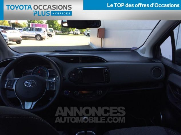 Toyota YARIS HSD 100h Cacharel 5p Vert Clair Métal Occasion - 4