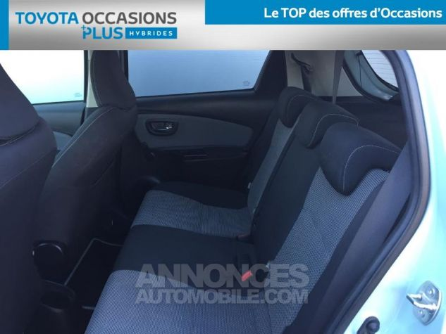 Toyota YARIS HSD 100h Cacharel 5p Vert Clair Métal Occasion - 13