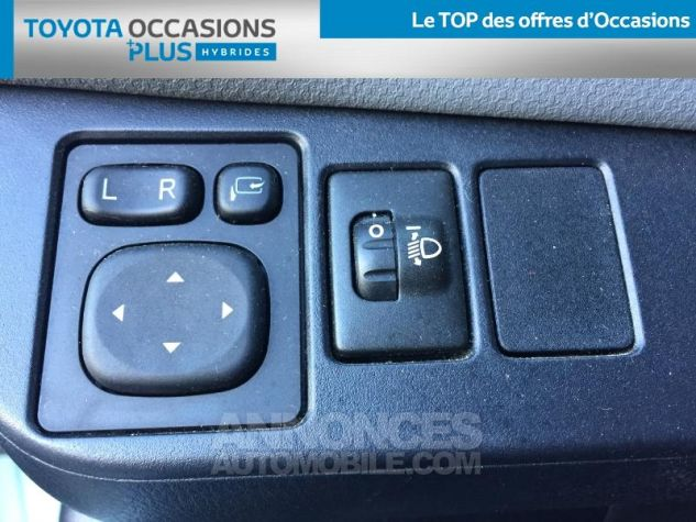 Toyota YARIS HSD 100h Cacharel 5p Vert Clair Métal Occasion - 17