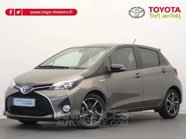 Toyota YARIS HSD 100h Collection 5p GRIS MOYEN Occasion - 0