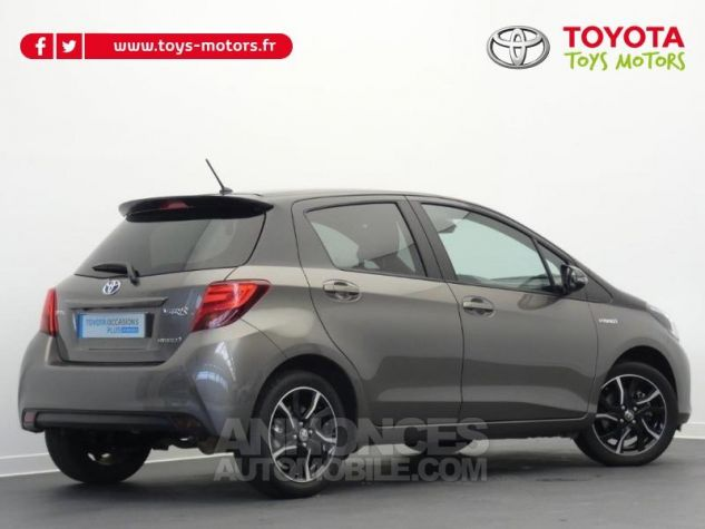 Toyota YARIS HSD 100h Collection 5p GRIS MOYEN Occasion - 1