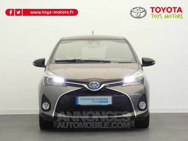 Toyota YARIS HSD 100h Collection 5p GRIS MOYEN Occasion - 13