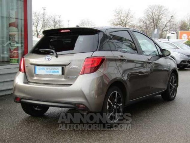 Toyota YARIS HSD 100h Collection 5p Gris Clair Occasion - 7