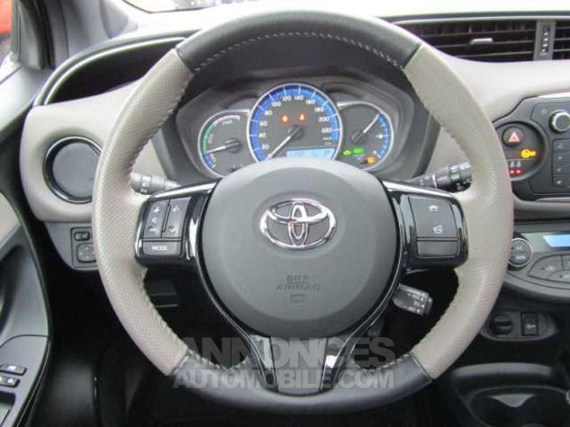 Toyota YARIS HSD 100h Collection 5p Gris Clair Occasion - 11