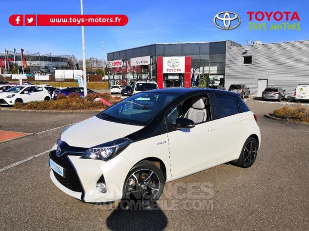 Toyota YARIS HSD 100h Collection 5p BLANC NACRE Occasion - 0