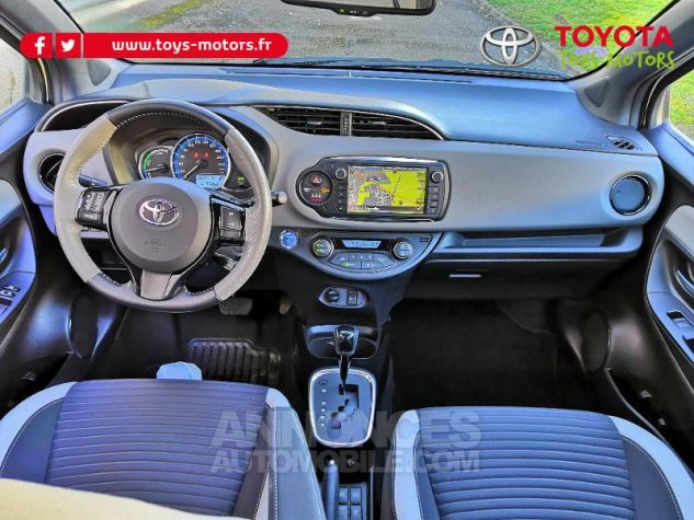 Toyota YARIS HSD 100h Collection 5p BLANC NACRE Occasion - 3