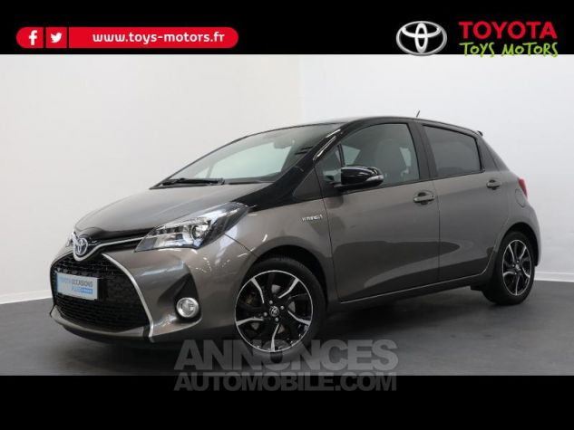 Toyota YARIS HSD 100h Collection 5p GRIS DUNE Occasion - 0