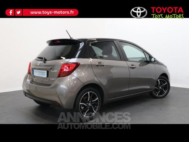 Toyota YARIS HSD 100h Collection 5p GRIS DUNE Occasion - 1