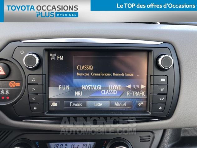Toyota YARIS HSD 100h Collection 5p BLANC NACRE Occasion - 6