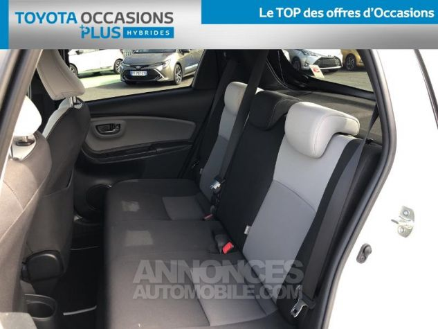 Toyota YARIS HSD 100h Collection 5p BLANC NACRE Occasion - 13