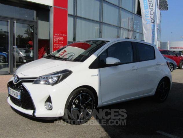 Toyota YARIS HSD 100h Design 5p BLANC PUR Occasion - 0