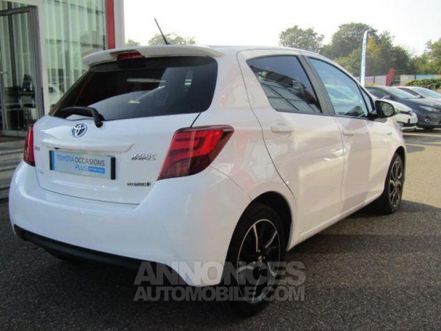 Toyota YARIS HSD 100h Design 5p BLANC PUR Occasion - 4