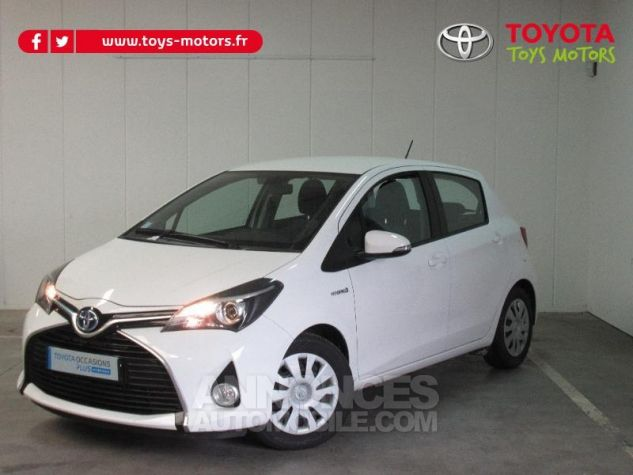 Toyota YARIS HSD 100h Dynamic 5p BLANC Occasion - 0
