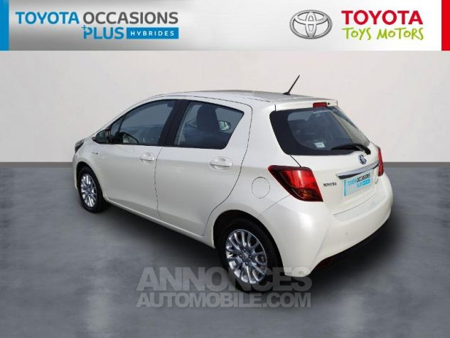 Toyota YARIS HSD 100h Dynamic 5p Blanc Nacre Occasion - 1
