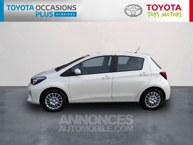 Toyota YARIS HSD 100h Dynamic 5p Blanc Nacre Occasion - 2