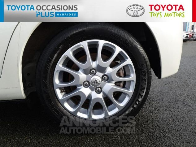 Toyota YARIS HSD 100h Dynamic 5p Blanc Nacre Occasion - 3